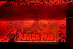 cool Jurassic park display